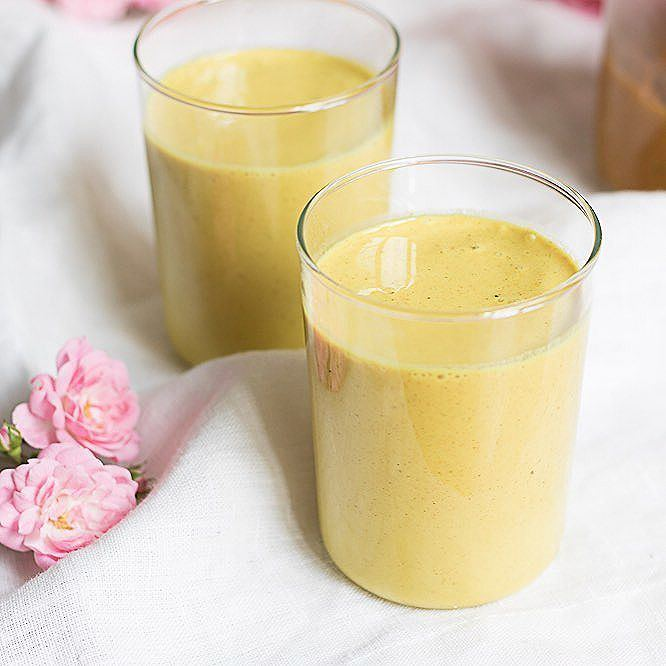 Vegan Golden Turmeric Milk