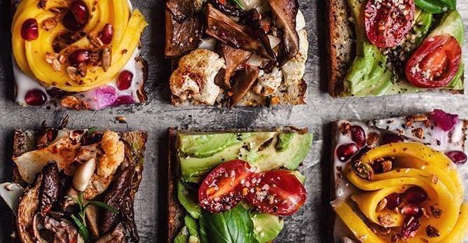 Vegan Toast Party